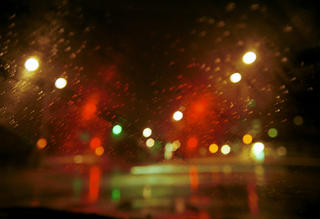 Night Rain 4 by Bettina Salomon