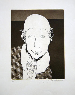 Astonished Head by Manuel Alcorlo