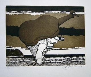 The Cello by Manuel Alcorlo