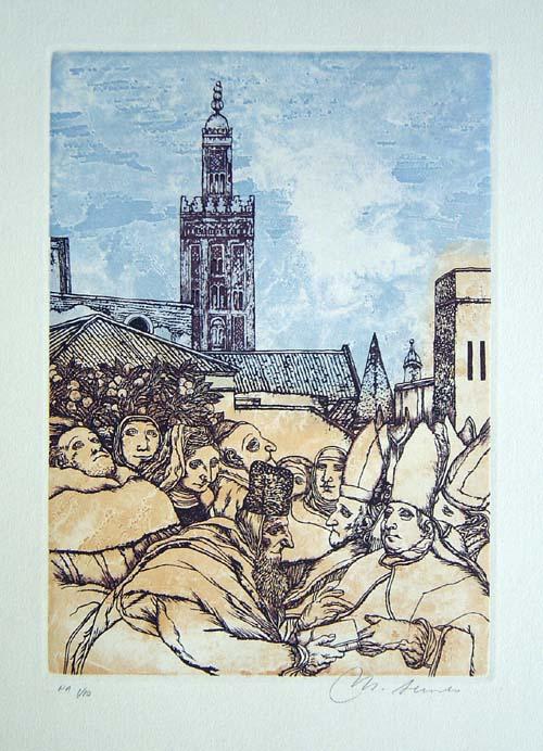 At Sevilla by Manuel Alcorlo