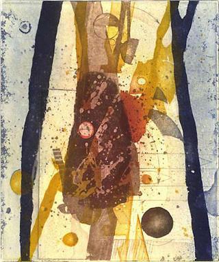 Grosse Morchel (Large Morel) by Dieter Eckert