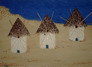 Greece' Windmills by Faba Faba