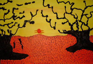 Orange Morning by Faba Faba