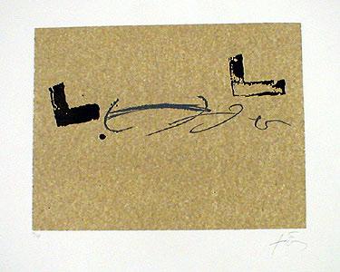 Repertorio de Junio by Antoni Tàpies