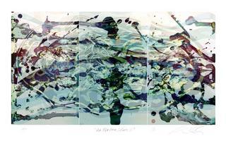 La Ola Series, Study IX by Alexander Sutulov