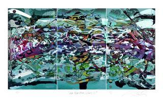 La Ola Series, Study XIII by Alexander Sutulov