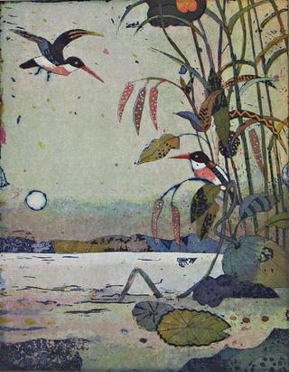 Im Morgenteich (In the Morning Pond) by Jutta Votteler