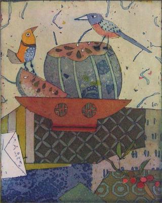 Melonenfreund (Melon Friend) by Jutta Votteler