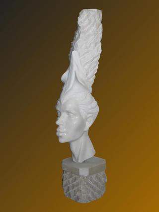 Woman with Turban by Hans Varela