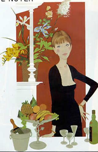 Femme Chez Maxim by Philippe DeNoyer
