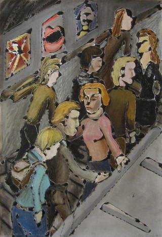 Ridding the Elevator by Hilary Senhanli