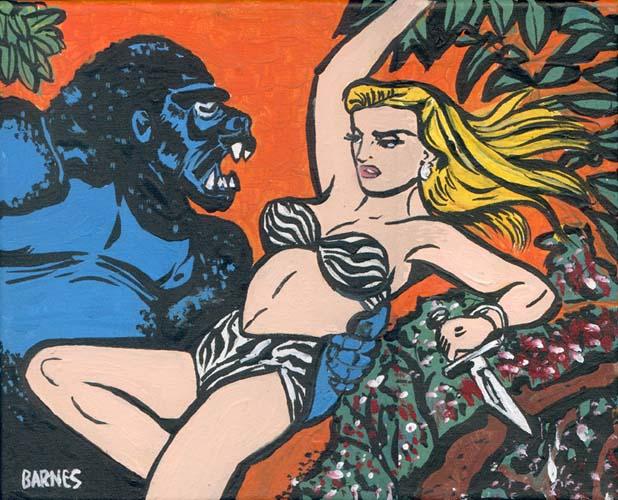 Sheena Fights the Gorilla by Cristian Barnes