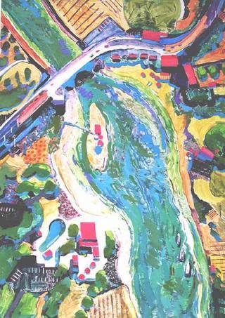 River Run 2 by David Mac Innes