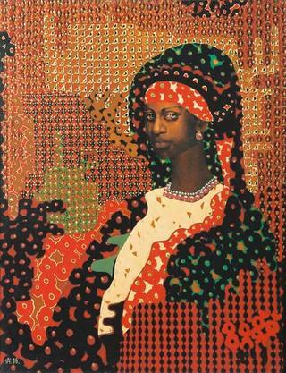 Black Virgin by Oleg Safronov