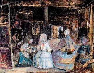 Meninas IV by Joan Laborda