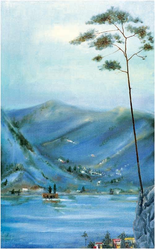Between Italy and Altai by Borís Kasyanov
