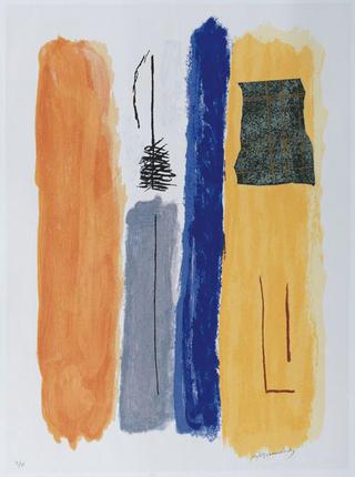 Vertical Blue by Albert Rafols Casamada