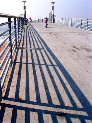On the Pier by David Mac Innes