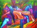 Wefts by Oscar Gagliano
