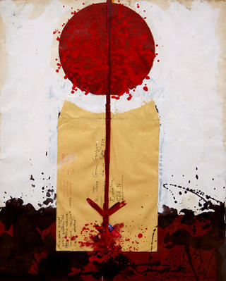 Untitled (Red Line) by Josep Grau Garriga