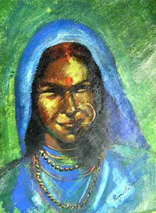Portrait III by Priyanka Gupta