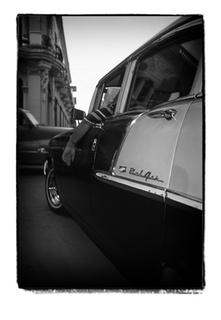 Shiny Cars, Dusty Roads (Havana, Cuba) by Joe Lasky