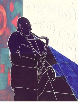 Coleman Hawkins by Luis Yngüanzo