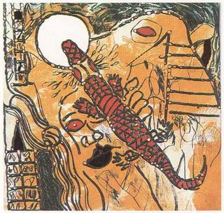 Para que los Cocodrilos Duerman en Largas Filas bajo el Amianto de la Luna (A García Lorcaun Poeta en Nueva York Series) by Josep Mª Guinovart
