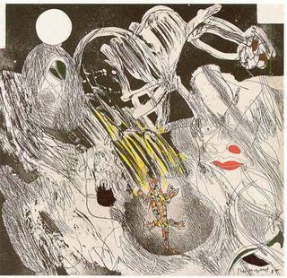 Asesinado por el Cielo, entre las Formas que van hacia la Sierpe y las Formas que Buscan el Cristal (A García Lorca un Poeta en Nueva York Series) by Josep Mª Guinovart