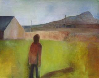 Figure in Pembrokeshire by Jan Neale
