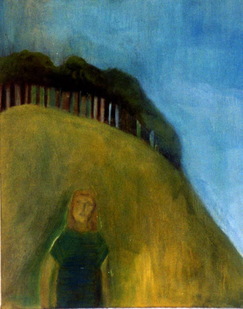 Girl on the Hill by Jan Neale