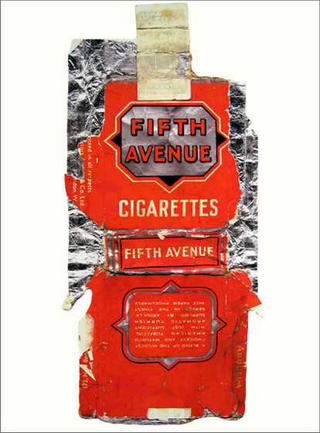 Fag Packets (Fifth Avenue) by Peter Blake