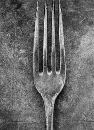 Untitled (Cutlery Series) by Bob Carlos Clarke