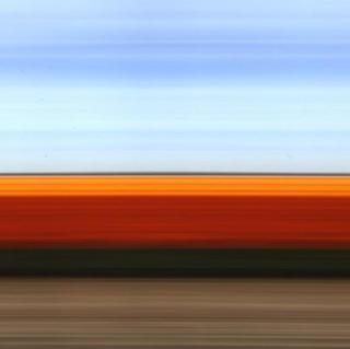 Travelling Still Tulip Fields Holland III by Rob Carter