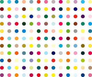 Lysergic Acid Diethylamide by Damien Hirst