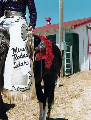 Miss Rodeo Idaho's Chaps by Lisa Eisner