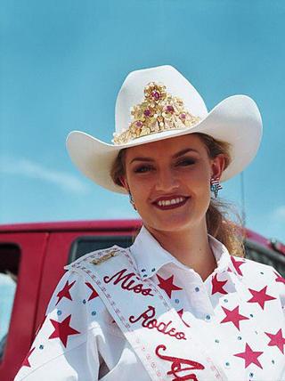 Miss Rodeo America, Miquel Holyoak by Lisa Eisner