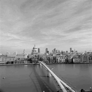 Thames 2 (Millennium Bridge, London) by Bill Peronneau