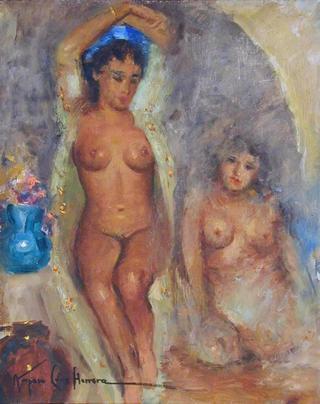 Nudes by Amparo Cruz Herrera