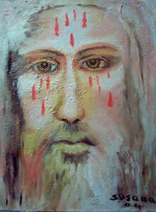 Portrait of Christ by Susana Prats