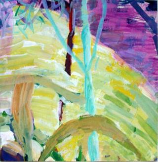 Verandah View by Anne McNeill