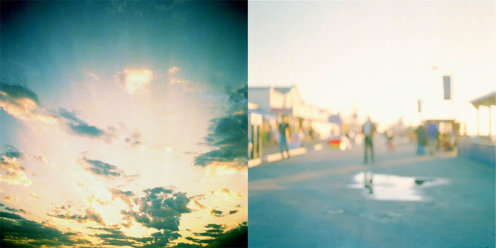 Heavens (Diptych) by Robert Kenney