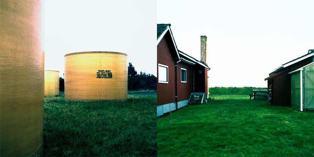 Housetanks (Diptych) by Robert Kenney