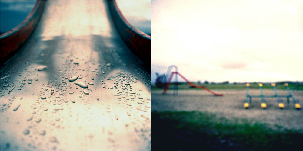 Slideplay (Diptych) by Robert Kenney