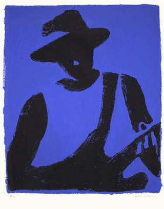 Bluesman by Romà Panadés
