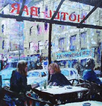 Hotel Bar, Bayeux by Joe Cousin