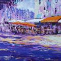 La Maison Bleue, Honfleur by Joe Cousin