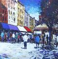 Morning, Market Day by Joe Cousin