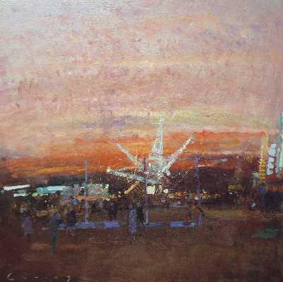 Nevill Gallery - Fred Cuming - Fairground Sunset