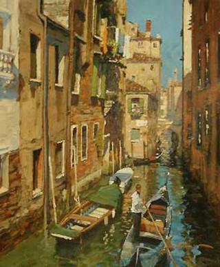 Venetian Backwater by John Haskins